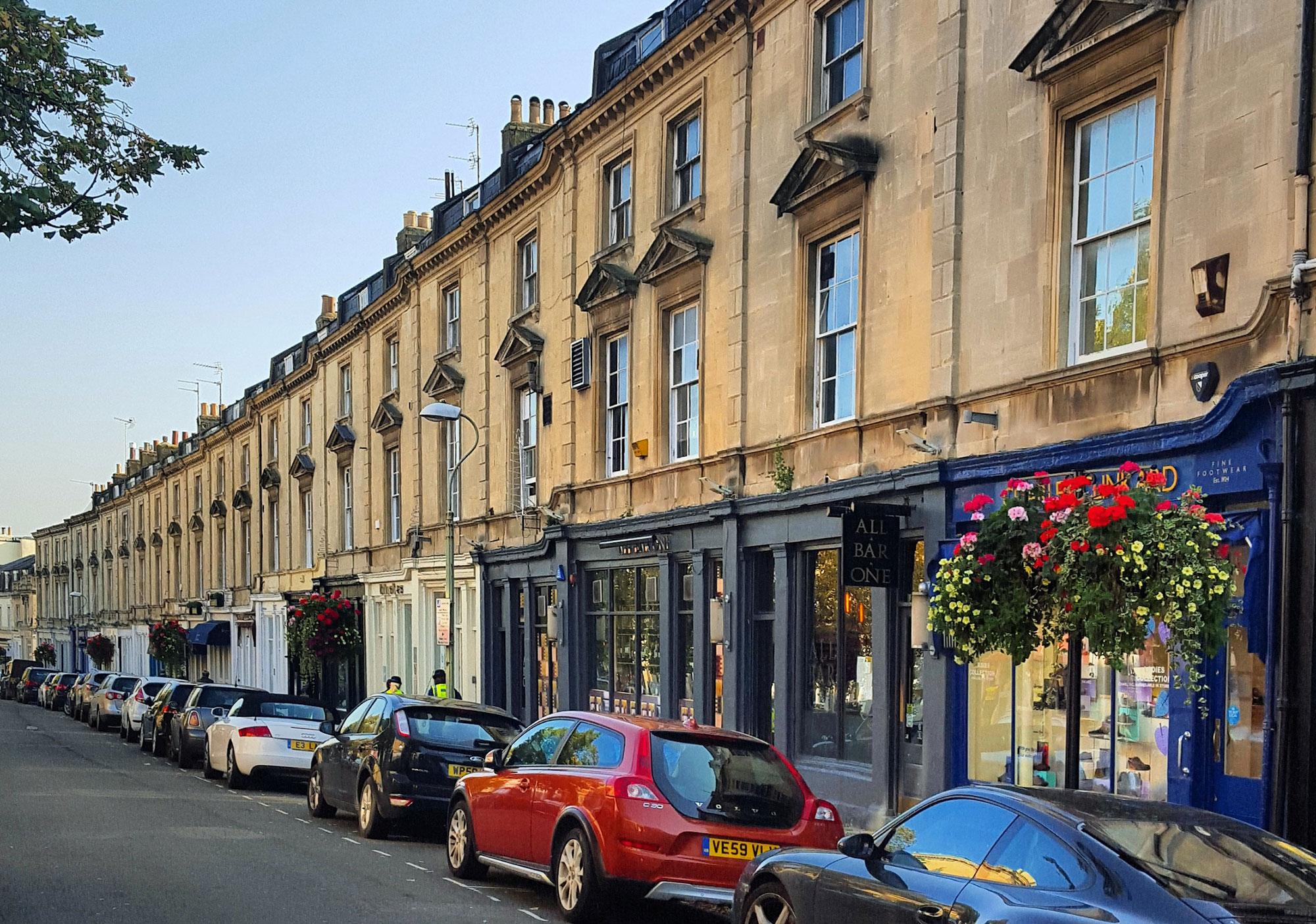 A beautiful Georgian Terrace in Montpellier, Cheltenham. Photo by Amanda Jones.
