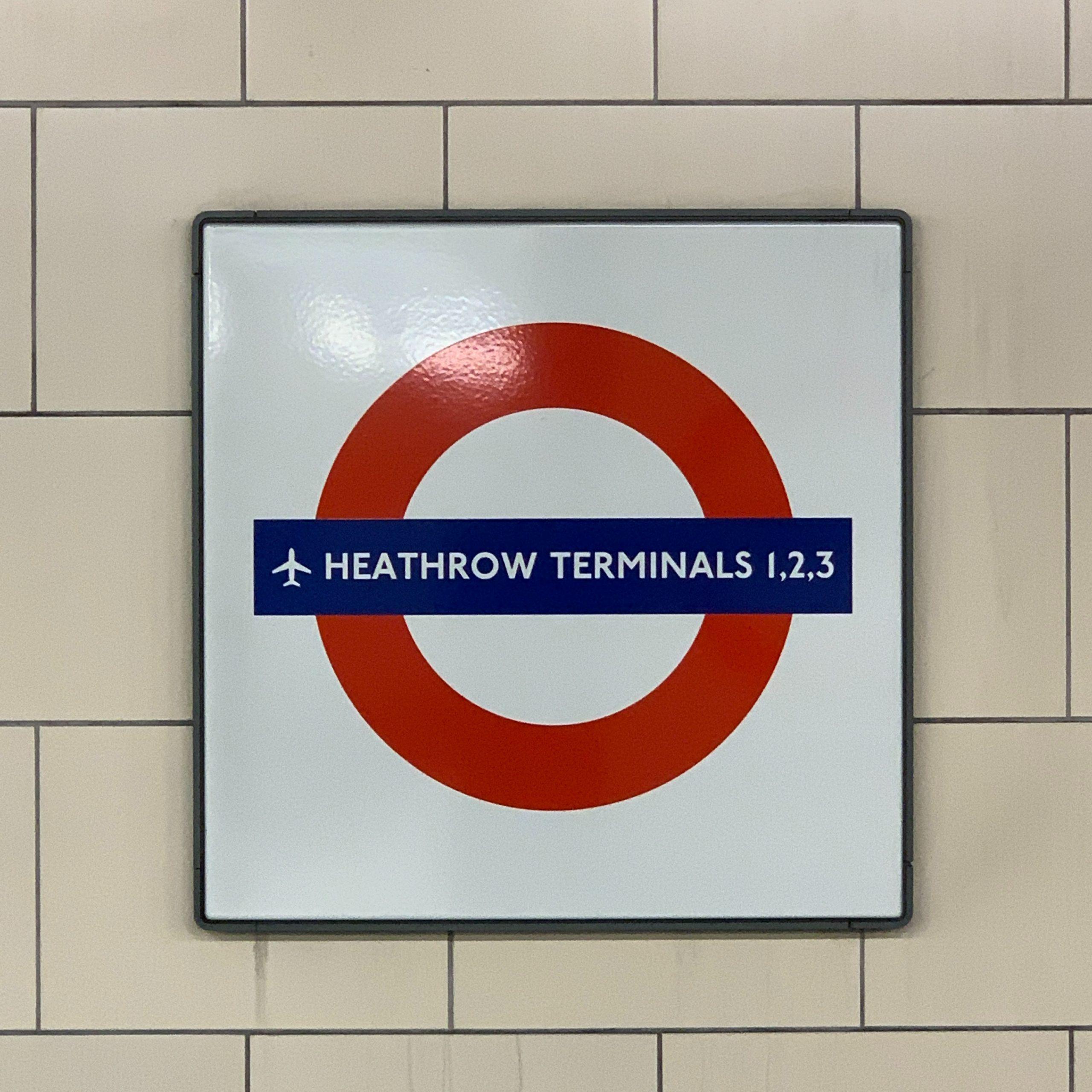 Heathrow Airport via the London Underground